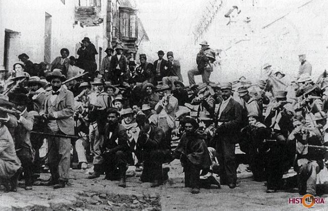 Combatientes de la Guerra Federal - La Paz