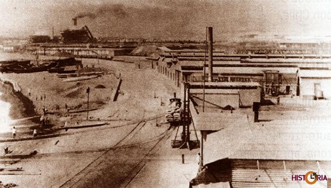 Compañía de Salitres y Ferrocarriles de Antofagasta, 1879.