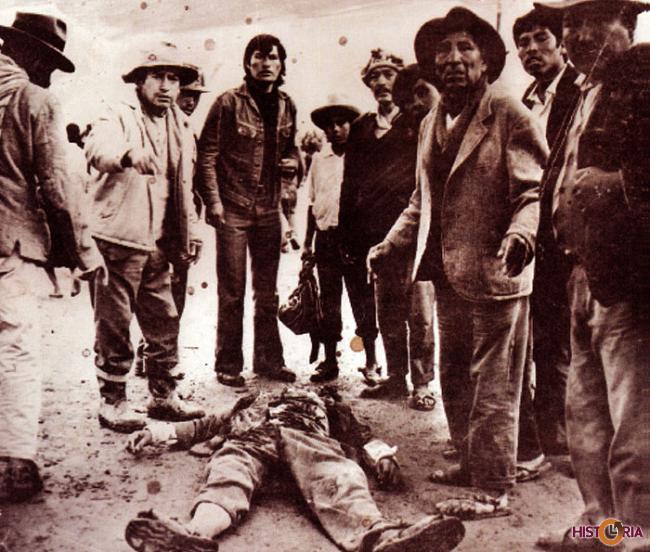 La Masacre del Valle, Masacre de Tolata - Cochabamba, enero 1974.