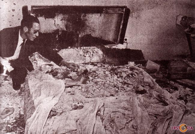 Asesinato con bomba de Alfredo Alexander Jordán, Director matutino Hoy - La Paz, 1970