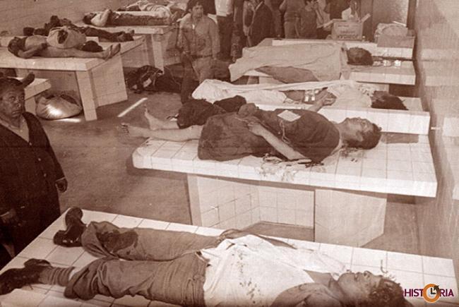 Morgue, Golpe de Natusch Busch, noviembre de 1979.