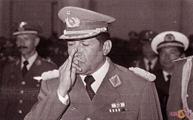 General Luis García Meza, La Paz, 1980.
