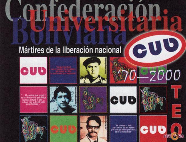Afiche de Homenaje Guerrilleros de Teoponte 2000.