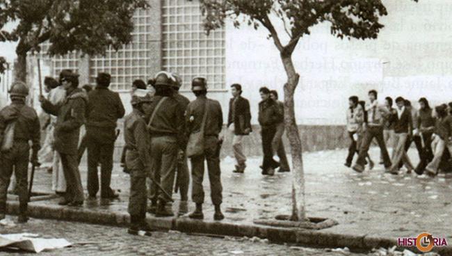 El movimiento universitario se enfrentó al gobierno de Banzer por la autonomía universitaria y sufrió la represión militar.