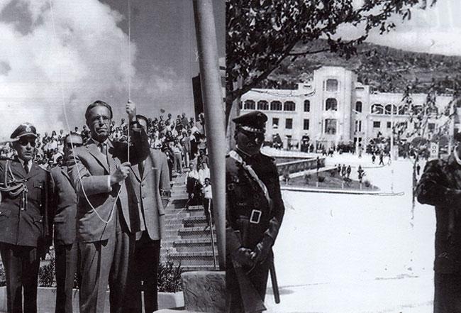 Inauguración del Campeonato Sudamericano de Fútbol 1963