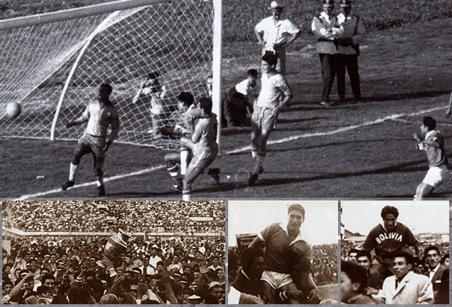 Bolivia vs. Brasil (Final Campeonato Sudamericano de Fútbol de 1963)