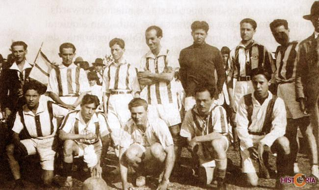 Franco Jugadores, de la Primera Época del Fútbol Cruceño (1917)