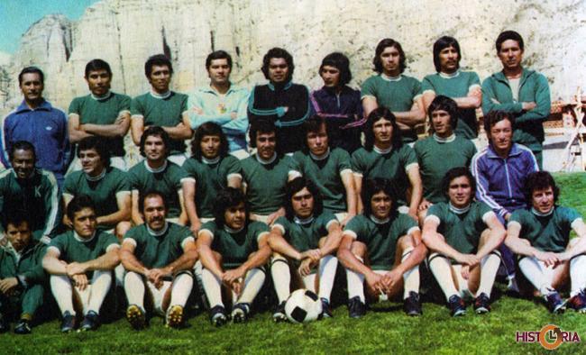 Selección Nacional de Fútbol de Bolivia. Eliminatorias de Argentina 1978.