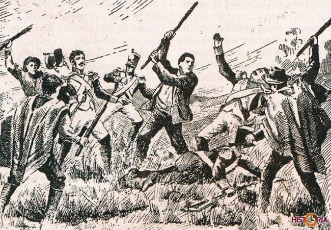 Batalla de Aroma, victoria de los ejercitos de Cochabamba y Oruro