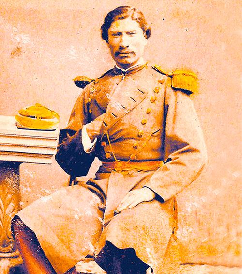 Coronel Rufino Carrasco, héroe combate de Tambillo, Atacama