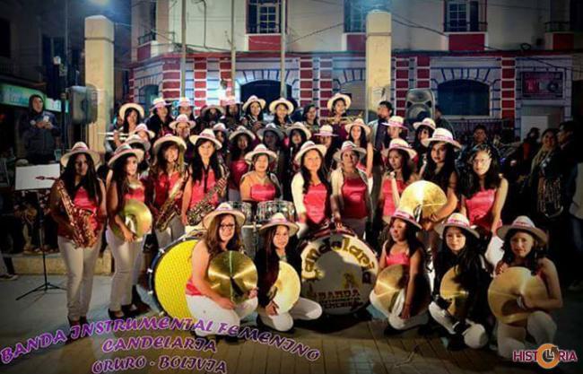 Banda Instrumental Femenina Candelaria