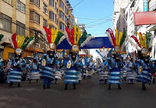 """Morenada Juventud San Pedro Residentes de Achacachi """"Los Catedráticos"""""""