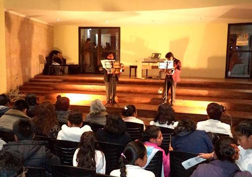Escuela Nacional de Música Eduardo Caba – Potosí, alumnos