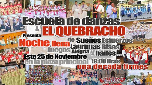 """Banner, Escuela """"El Quebracho"""""""