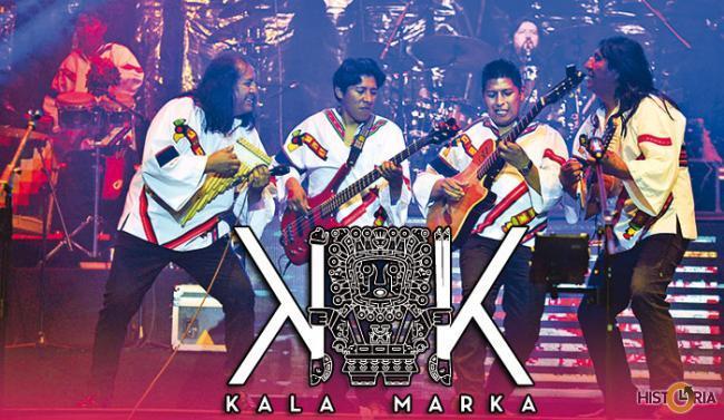 Grupo musical de folklore boliviano Kala Marka.